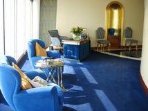 Внутри сюиты в гостинице Al Burj арабской в Дубай стоковое изображение