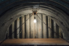Внутри укрытия Стоковая Фотография