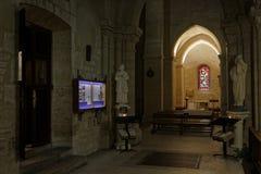 Внутри церков St Peter Montmartre Стоковое Изображение