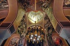 Внутри церков Tsarevets Стоковое Изображение