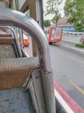 Внутри шины Бангкока Стоковая Фотография RF