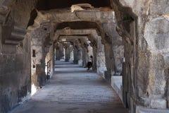 Внутри colosseum на Nimes Стоковое фото RF
