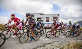 Внутри Peloton - Тур-де-Франс 2015 Стоковые Фотографии RF
