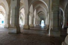 Внутри Shat Gombuj Masjid Стоковые Изображения
