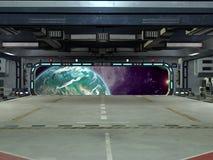 внутри starcarrier Стоковые Изображения RF