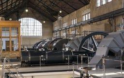 Внутри steamgemaal стоковые фотографии rf