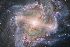 Внушительная галактика в космическом пространстве Starfields бесконечного космоса стоковые фото