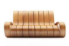 внушительная древесина кресла Стоковое Изображение