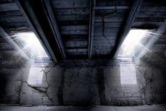 внушительная загубленная дом Стоковое Изображение