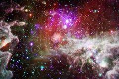 Внушительный глубокого космоса Миллиарды галактик в вселенной Элементы этого изображения поставленные NASA стоковые фото
