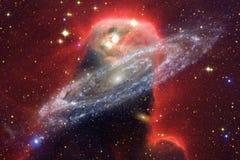 Внушительный глубокого космоса Миллиарды галактик в вселенной стоковые изображения rf