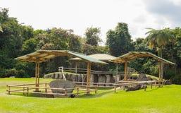 Внушительный парк San Agustin археологический, Huilla, Колумбия стоковые фотографии rf