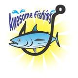 Внушительная рыбная ловля Стоковые Изображения RF