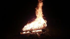 Внушительный огонь Стоковое Фото