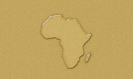 вода Африки Иллюстрация вектора