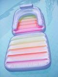 вода бассеина кровати плавая Стоковое Изображение RF