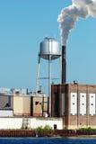 вода башни фабрики промышленная Стоковое Фото