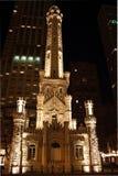 вода башни chicago Стоковые Изображения RF