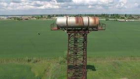 вода башни moscow России kolomenskoe Старое деревенское общинное сообщение вода башни moscow России kolomenskoe Стоковая Фотография