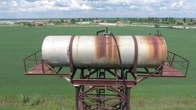 вода башни moscow России kolomenskoe Старое деревенское общинное сообщение вода башни moscow России kolomenskoe Стоковые Изображения