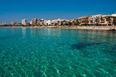 вода бирюзы Средиземного моря Стоковые Изображения RF