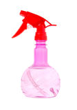 вода брызга бутылки Стоковое Изображение