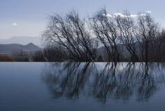 вода валов отражения Стоковые Фотографии RF