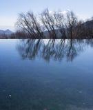 вода валов отражения Стоковые Изображения RF