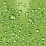 вода вектора пузырей зеленая Стоковые Изображения RF