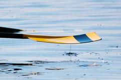 вода весла капельки Стоковое Фото