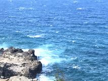 вода взгляда неба океана облака Стоковое фото RF