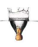 вода взрыва Стоковые Фотографии RF