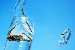 вода взрыва Стоковая Фотография