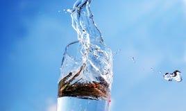 вода взрыва Стоковые Изображения