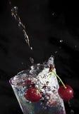 вода вишни Стоковая Фотография