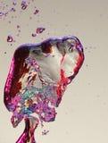 вода воздушных пузырей цветастая Стоковые Изображения