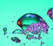 вода воздушных пузырей Стоковое фото RF