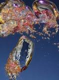 вода воздушных пузырей Стоковые Фото