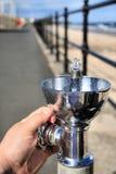 вода выпивая фонтана Стоковое Изображение RF