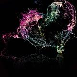 вода выплеска сердца Стоковые Фотографии RF