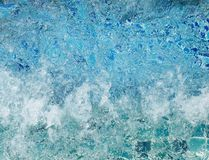 Вода в джакузи Стоковая Фотография