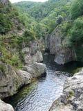 Вода в каньоне стоковое изображение