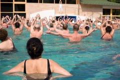 вода гимнастики thremal Стоковые Изображения RF