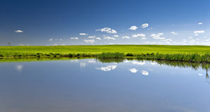 вода голубого неба Стоковое Изображение