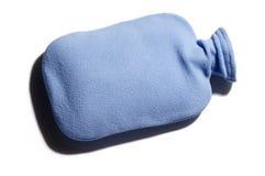 вода голубой бутылки горячая Стоковые Фотографии RF