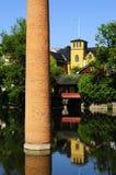 вода городка Стоковое Изображение RF