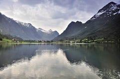 вода гор Стоковая Фотография RF