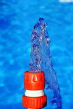 вода двигателя шланга Стоковые Фотографии RF