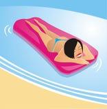 вода девушки Стоковые Изображения