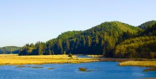 вода дороги горы Стоковые Фотографии RF